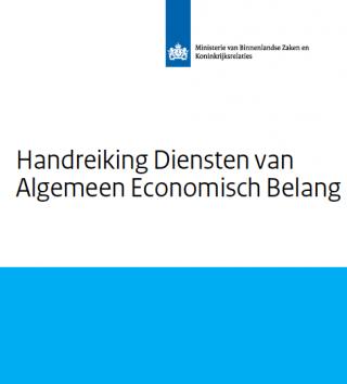 Handreiking Diensten van Algemeen Economisch Belang